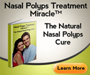 Nasal Polyps Treatment Miracle (tm) + 3 Month Counselling