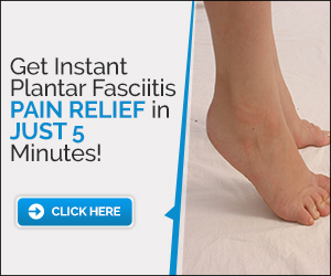 Instant Cure for Plantar Fasciitis