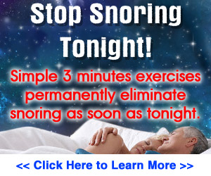 Holistic Treatment to get rid of Snoring